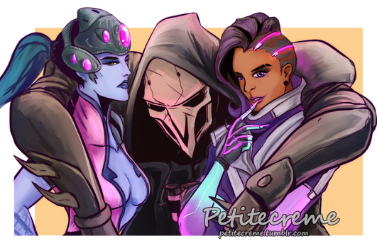 Overwatch Team Talon By Petitecreme On Deviantart