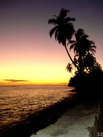 Lahaina at sunset by lurakitty