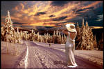 The Pure White Dress by vvmasterdrfan