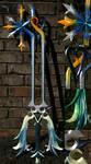 The Oathkeeper Keyblade by vvmasterdrfan