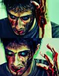 Zombie powers in ACTION by vvmasterdrfan
