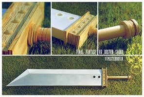 FFVII Buster Sword - Progress by vvmasterdrfan