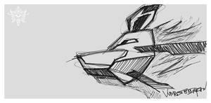 Wolf Mask by vvmasterdrfan