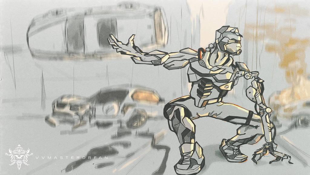 Cyborg_Strongman by vvmasterdrfan