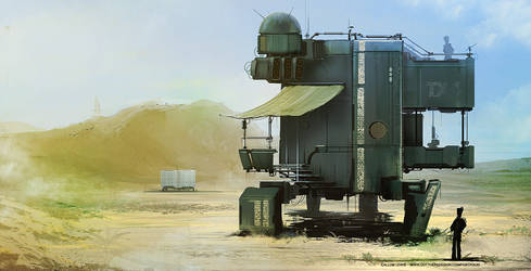 SciFi Anti Light-Armour Sentry by outtheredesign