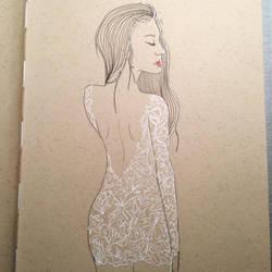 White Dress by Gaabs