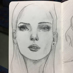 Sketch from a train by Gaabs