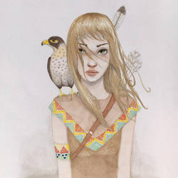Indian girl by Gaabs