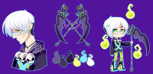 Reaper Auction (pending) by Kariosa-Adopts