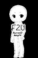 F2U by Kariosa-Adopts