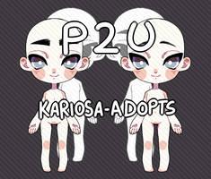 P2U Twins Base by Kariosa-Adopts