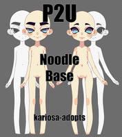 P2U Noodle Base by Kariosa-Adopts
