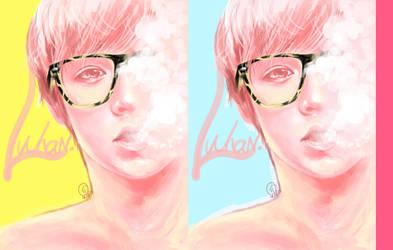 Pink LUHAN by Viivee
