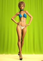 New Girl Pose 1 by REDANTArts