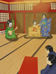 Geisha Hands Chapter 1 Illustration by KaterineHowardRose