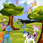 My Little Pony Generation 1 by KaterineHowardRose