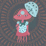 Jellyfish Chibi version 1 by KaterineHowardRose