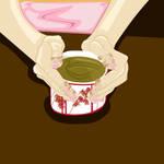 Geisha Hands Illustration - Yukie's Hands by KaterineHowardRose