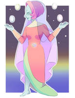Gemsona: Mother of Pearl by Unevenminded