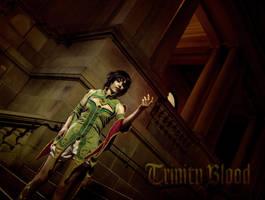 Trinity Blood: Empress Augusta Vradica by RadClawedRaid