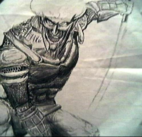 Cyborg Space Ninja by quakedisruptor