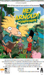 Hey Arnold The Jungle Movie (2017) Poster 2 by hamursh