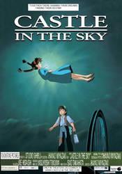 Castle in the Sky (1998) Poster by hamursh