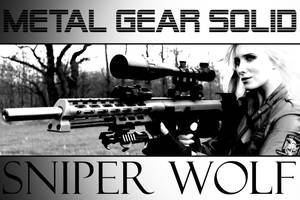 Sniper Wolf - Metal Gear Solid I by PhelanDavion