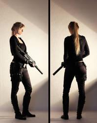 Female Agent STOCK VI by PhelanDavion