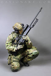Combat Soldier STOCK III by PhelanDavion