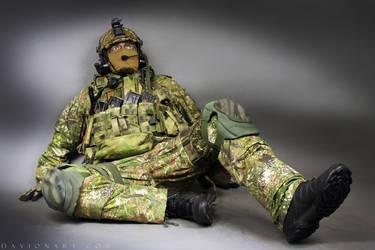 Combat Soldier STOCK XI by PhelanDavion