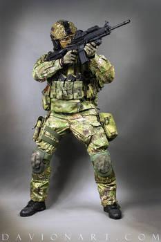 Combat Soldier STOCK XVI by PhelanDavion