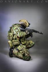 Combat Soldier STOCK XVIII by PhelanDavion