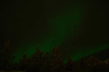 Aurora borealis by simeneine