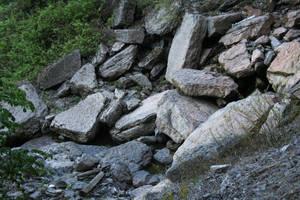 Fallen Rocks by fetishfaerie-stock