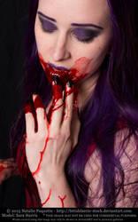 Sara Harris - Vampire by fetishfaerie-stock