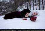 Blood and Snow II by fetishfaerie-stock