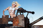 Mad Max Lady in White by Battledress