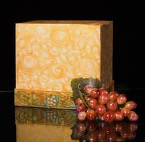 Isomalt Grapes with Fondant Layer by Battledress