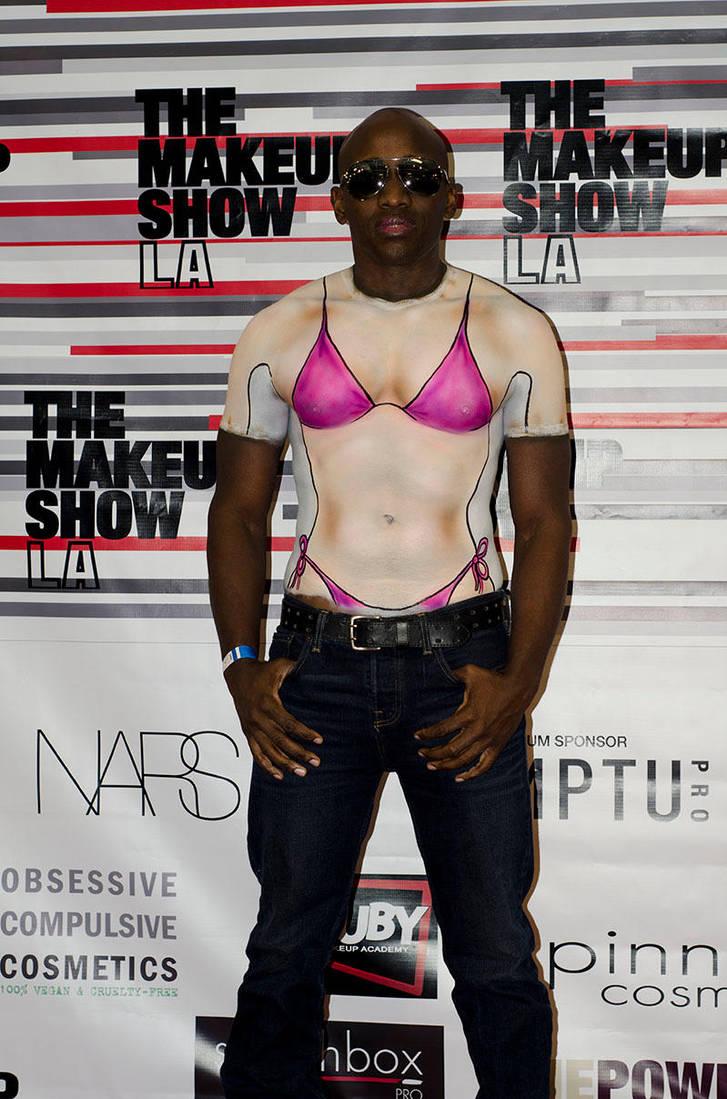 The Makeup Show - LA.... Graphic T by Battledress