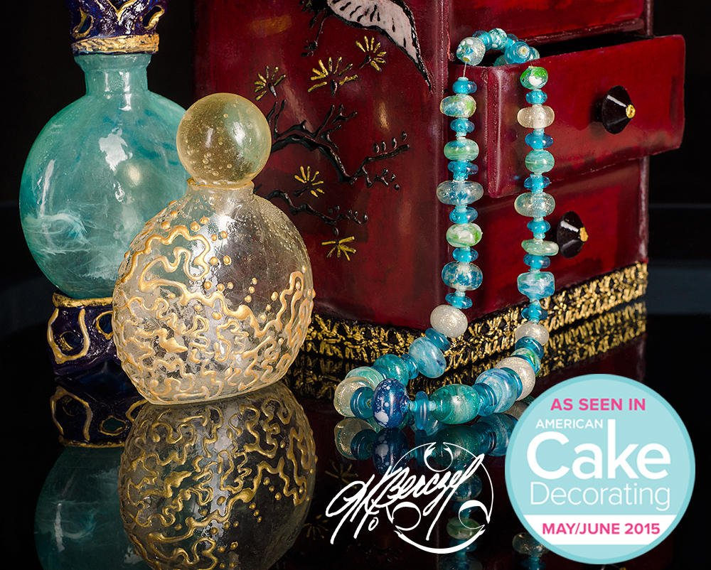 Vintage Jewelry made with Isomalt Sugar by Battledress
