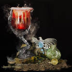 Birthday Mischief - Ravenclaw Goblet and Bubbles by Battledress