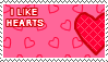 I Like Hearts Stamp by xSweetSlayerx
