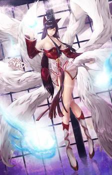 Ahri by bunny15539