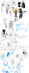 Sketchdump 2 by Langry-The-First