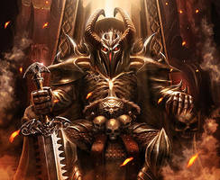 Demon King by NinjArt1st