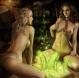 Naughty Spell (Full Scene) by NinjArt1st
