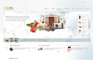 Olivos Website by grafiket