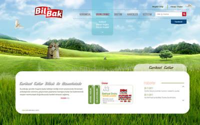 Bilbak Food Website by grafiket