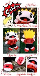 Calvin by fedoragirl